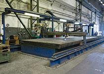 CNC Brennschneidemaschine